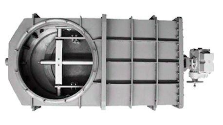 /></figure> <p>Затворы вакуумные плоские проходные с электроприводом предназначены для перекрытия вакуумных систем в диапазоне давлений от 1,33·10-3 до 1·10-5 Па (от 1·10-5 до 760 мм рт. ст.).</p> <p>Затворы в закрытом положении выдерживают перепад давления в 1,07·10-5 Па (800 мм рт. ст.) с любой стороны заслонки.</p> <p>Конструкция позволяет производить обслуживание и ремонт без демонтажа затвора. Затворы работают в установочных положениях: – горизонтально шибером вниз; – горизонтально шибером вверх;</p> <p>Принцип действия затворов основан на перемещении шибера в направлении условного прохода и обратно. Перемещение осуществляется с помощью электропривода.</p> <figure class=